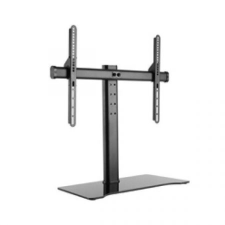"""Equip TV/Monitor állvány - 650601 (32""""-55"""" álló, állítható magasság, Max.: 40kg, fekete)"""