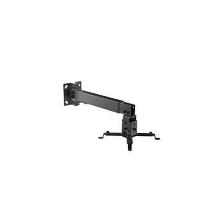 Equip Projektor Mennyzeti/Fali konzol - 650702 (dönthető, állítható magasság, Max.:20kg, fekete)