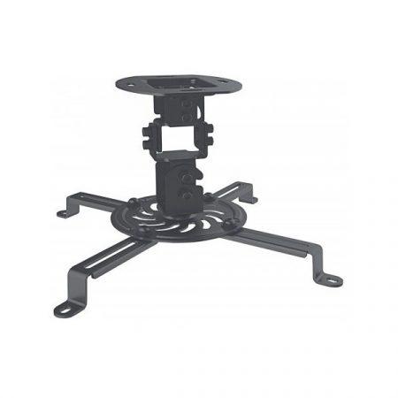 Manhattan Projektor Mennyezeti konzol - (forgatható, dönthető, 13,5kg terhelhetőség, Fekete)