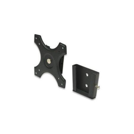 Manhattan Fali/asztali állvány -  Fix Monitor állvány (max.VESA:100x100)(fekete)