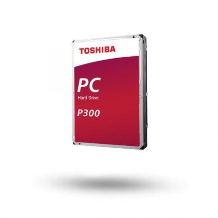 """Toshiba Belső HDD 3.5"""" - P300 Performance 1TB (Retail; asztali munkaállomások, külső HDD házak; 64MB / 7200RPM)"""