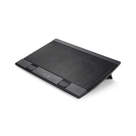 """DeepCool Notebook Hűtőpad 17""""-ig - WIND PAL FS (21,5-26,5dB; max. 195,38 m3/h; 2x14cm, 2xUSB2.0)"""