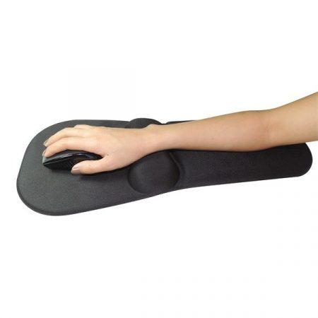 Sandberg Egérpad - Mousepad with Wrist + Arm Rest (zselés csukló- és kartámasszal; fekete)