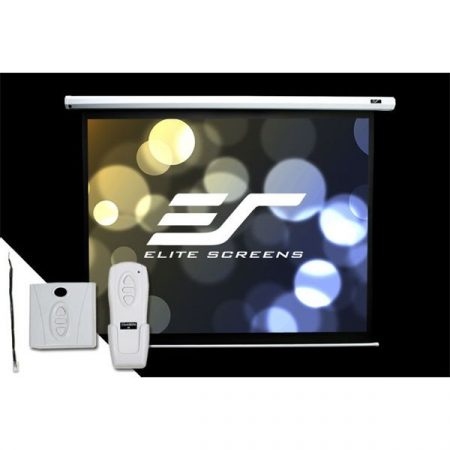 "EliteScreens 100"" (4:3) motoros fali vászon Spectrum Electric100V (203 x 152 cm, Fehér)"