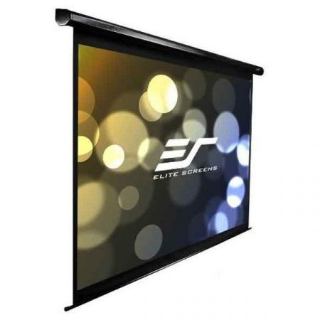 "EliteScreens 110"" (16:9) motoros fali vászon Spectrum Electric110H (244 x 137 cm, Fekete)"