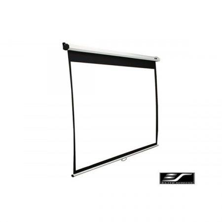 """EliteScreens 113"""" (1:1) manuális fali vászon M113NWS1 (203 x 203 cm, Fehér váz)"""