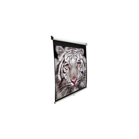 """EliteScreens 92"""" (16:9) manuális fali vászon M92XWH (204 x 115 cm, Fehér váz)"""