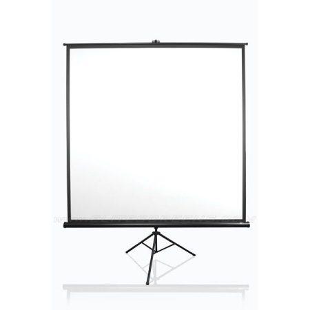 """EliteScreens 120"""" (4:3) mobil háromlábú vászon T120UWV1 (244 x 183 cm, fekete)"""