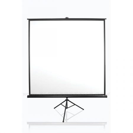 """EliteScreens 136"""" (1:1) mobil háromlábú vászon T136UWS1 (244 x 244 cm, Fekete)"""