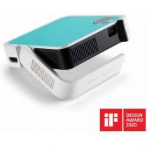 ViewSonic Projektor WVGA - M1 Mini (LED, 120LL, HDMIx1, 2Wx2 JBL, Battery,30 000h)