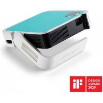ViewSonic Projektor WVGA - M1 Mini Plus (LED, 120LL, 3D, HDMIx1, BT, WIFI, 2Wx2 JBL, 5000mAh, ,30 000h)