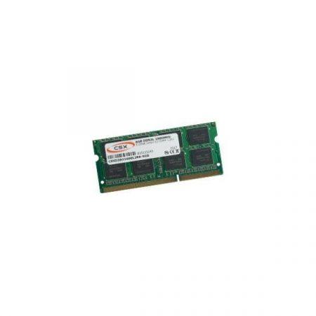 CSX Memória Notebook - 4GB DDR3 (1600Mhz,  CL11, Low Voltage 1.35V!)