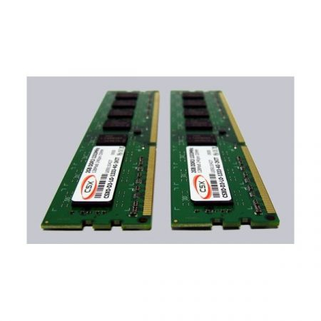 CSX Memória Desktop - 4GB Kit DDR3 (2x2GB, 1333Mhz, 128x8, CL9, 1.5V)