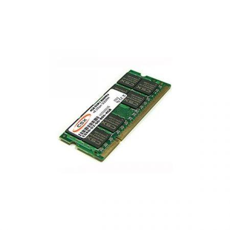 CSX Memória Notebook - 4GB DDR3 (1600Mhz, 256x8, CL11, 1.5V)