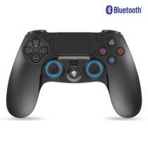 Spirit of Gamer Gamepad Vezeték Nélküli - XGP Bluetooth PS4 (USB, Vibration, PS4/PS3 kompatibilis, fekete-kék)