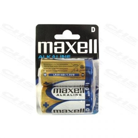 MAXELL Alkálielem R-20 Góliát 2db-os