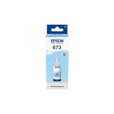 EPSON Patron - T6735 (L800/L1800, 70ml, világoskék)