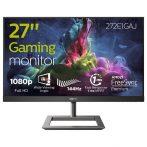 """Philips Gaming monitor 272E1GAJ/00  - 27"""", 1920x1080, 16:9, 350 cd/m2, 1ms, 144Hz, HDMI, DisplayPort, hangszóró"""