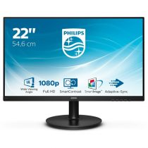 "Philips monitor 21,5"" - 221V8/00 1920x1080, 16:9, 200 cd/m2, 4 ms, VGA, HDMI"