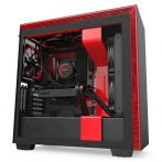 NZXT H710i Tempered Glass Matte Black/Red