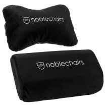 Gamer szék kiegészítő Noblechairs EPIC/ICON/HERO párnaszett Fekete/Fehér
