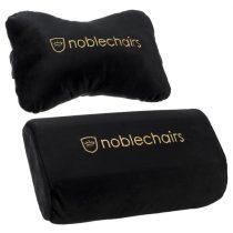 Gamer szék kiegészítő Noblechairs EPIC/ICON/HERO párnaszett Fekete/Arany