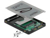 """Delock 2.5"""" SATA kártyaolvasó CFast memóriakártyákhoz"""