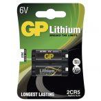 GP 2CR5 Lithium 6V 2db/bliszter fotó elem