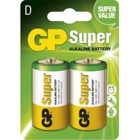 GP B1341 Super alkáli 13A 2db/blister góliát (D) elem