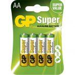 GP Super alkáli 15A ceruza (AA) elem 4db/bliszter