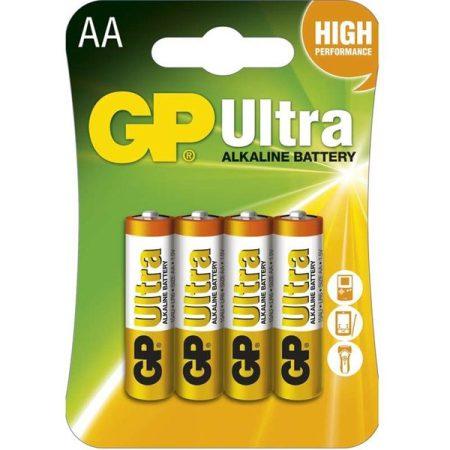 GP B1921 Ultra alkái AA (LR6) ceruza elem 4db/bliszter