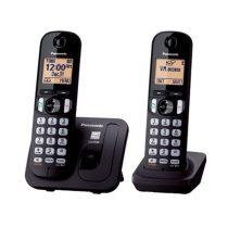 Panasonic KX-TGC212PDB DUO DECT hívásazonosítós fekete vezetéknélküli telefon