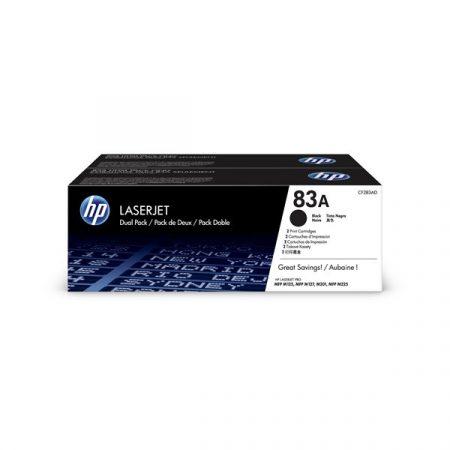HP CF283AD (83A) fekete duo-pack toner