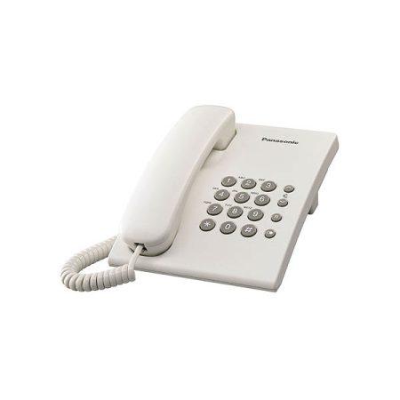 Panasonic KX-TS500HGW fehér vezetékes telefon