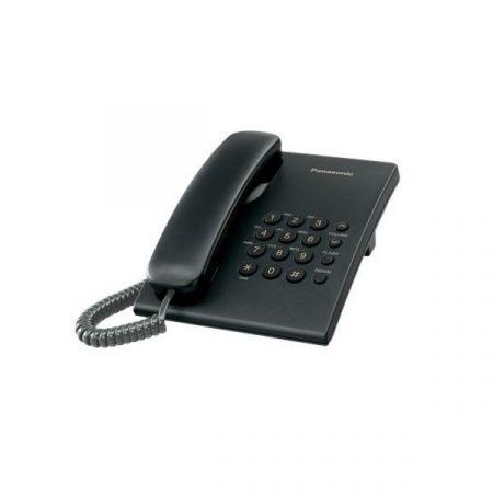 Panasonic KX-TS500HGB fekete vezetékes telefon