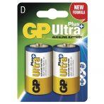 GP Ultra Plus Góliát D (LR20) elem 2 db/bliszter