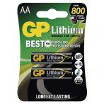 GP B15212 FR6 2 db/bliszter AA lítium elem