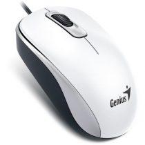 Genius DX-110 USB fehér egér