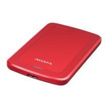 "ADATA AHV300 2,5"" 1TB USB3.1 piros külső winchester"