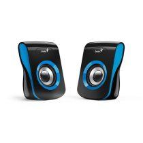 Genius SP-Q180 fekete-kék USB hangszóró