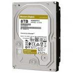 "Western Digital 3,5"" 8000GB belső SATAIII 7200RPM 256MB Gold WD8004FRYZ winchester"