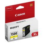Canon PGI-1500 sárga XL tintapatron
