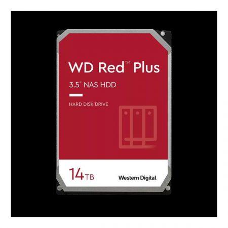 "Western Digital 3,5"" 14000GB belső SATAIII 7200RPM 512MB RED PLUS WD140EFGX winchester 3 év"