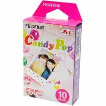 Fujifilm Instax Mini fényes Candy Pop 10 db képre film