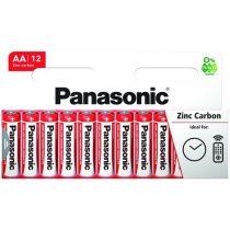 Panasonic Red Zinc AA ceruza 1.5V cink-mangán tartós elem 12db/csomag