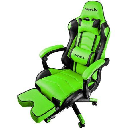 RAIDMAX Drakon DK709 zöld gamer szék