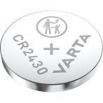 Varta 6430112401 CR2430 lítium gombelem 1db/bliszter